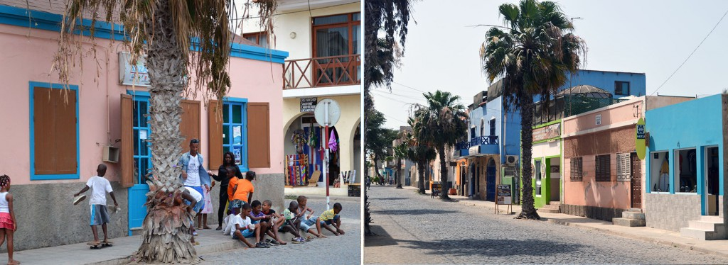 Straßenleben Santa Maria