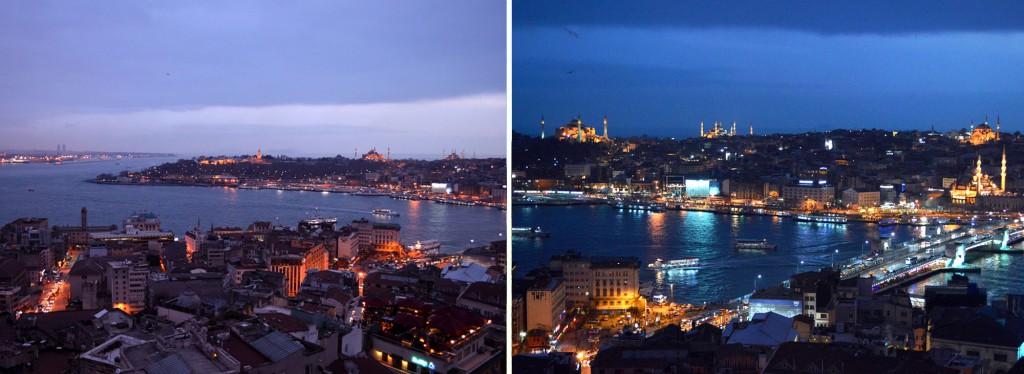 Blaue Stunde Istanbul