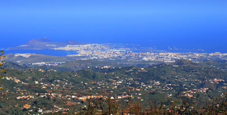 Blick auf Las Palmas