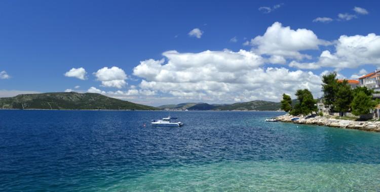 Bucht bei Trogir