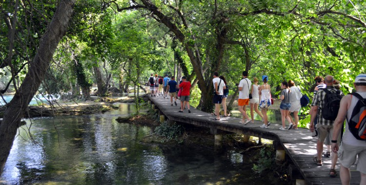 Stege Krka Nationalpark