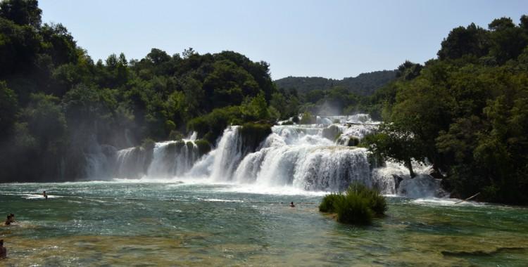 Wasserfall Skradinski buk