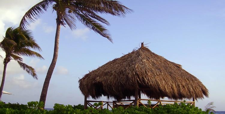 Strandhütte Curacao