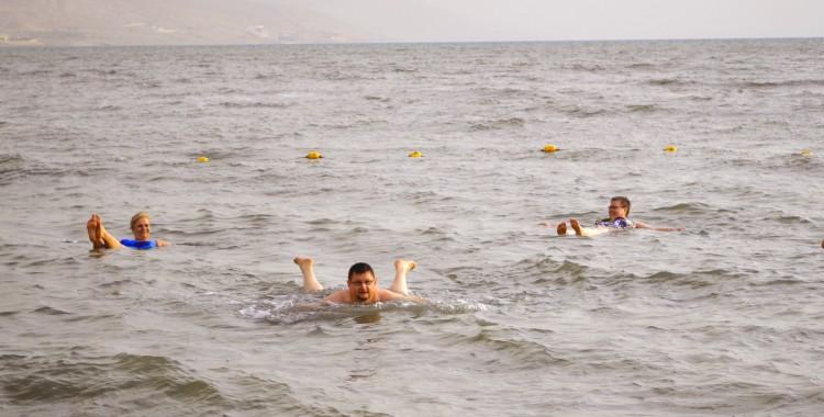 Schwimmen Totes Meer
