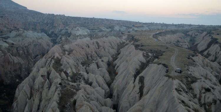 Landschaft Kappadokien