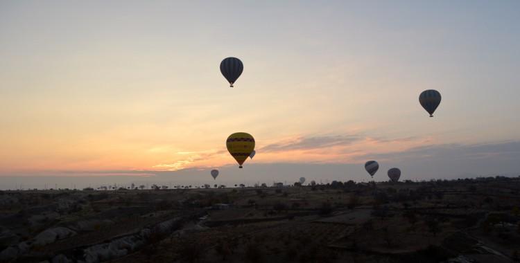 Sonnenaufgang Kappadokien