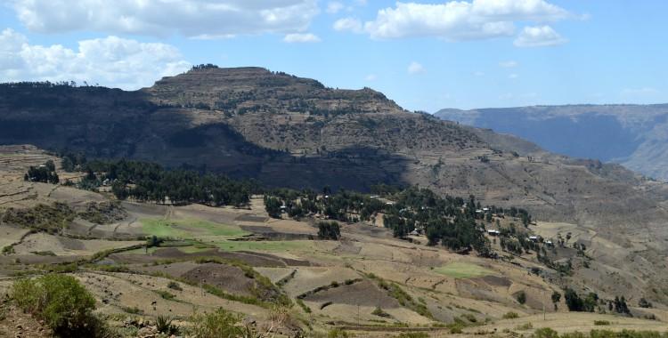 Berge Hochland Äthiopien