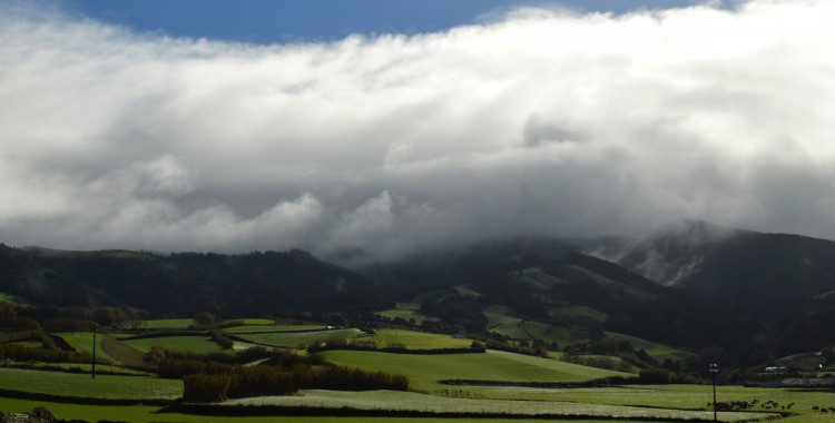 Bergkette Azoren