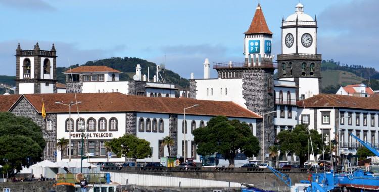 Ponta Delgada Altstadt